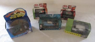 Various die cast cars - Corgi Wallace & Gromit The curse of the were-rabbit anti-pesto van, bun