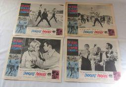 4 vintage Cliff Richard film posters relating to Swingers' Paradise c.1963 35.5 cm x 28 cm
