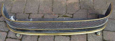 Brass fender L 108 cm
