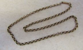 """9ct gold necklace weight 7.1 g L 17"""""""
