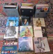 3 cases of 33 rpm LPs - mainly 1970s inc Sky, Abba, Barry Manilow and Robert Palmer