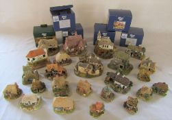 Quantity of Lilliput Lane cottages (some with boxes)