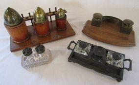 Selection of inkwells