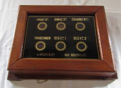 Servant's bell / Room indicator E Wight & Co Old Southgate 35 cm x 27 cm