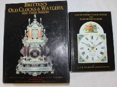Books: Britten's Old Clocks & Watches and their makers 9th Edition, revised and enlarged by Cecil