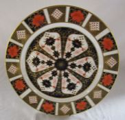 Large Royal Crown Derby imari charger no 1128 D 35.5 cm (first quality)