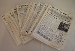 Large quantity of the notorious 1990's journal Louth Free Press