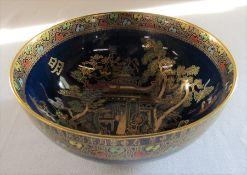 Carlton ware Mikado pattern bowl D 18 cm H 7.5 cm