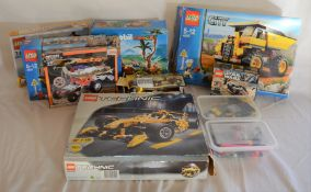 Large quantity of opened Lego