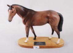 "A Beswick Connoisseur model, ""Troy"", on oval base, 11 1/2"" high (restored)"