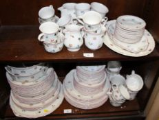 "A Villeroy and Boch ""Petite Fleur"" pattern part combination service"