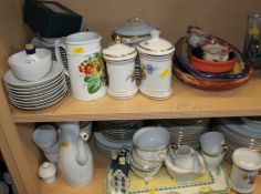 "A Noritake ""Goldart"" pattern part combination service and a quantity of other china, various"