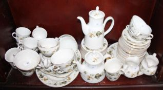 A Royal Doulton Larchmont part combination service, seventy-two pieces approx