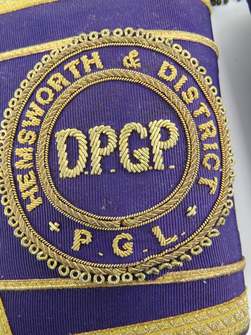 Lot 1 - The Royal Antediluvian Order of Buffaloes (RAOB); a Hemsworth & District PGL D.P.G.