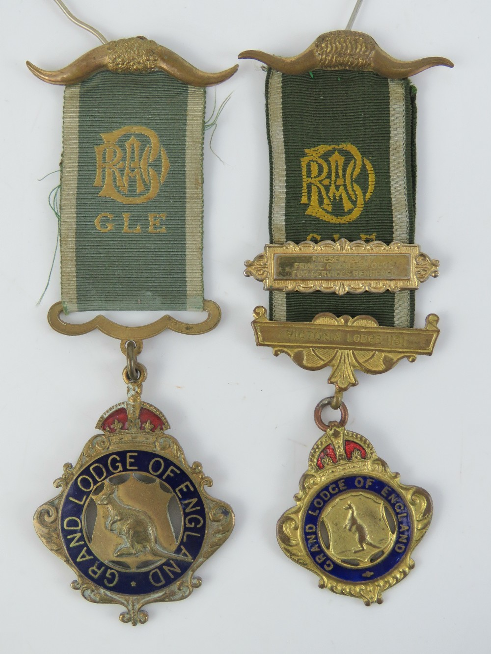 Lot 15 - The Royal Antediluvian Order of Buffaloe