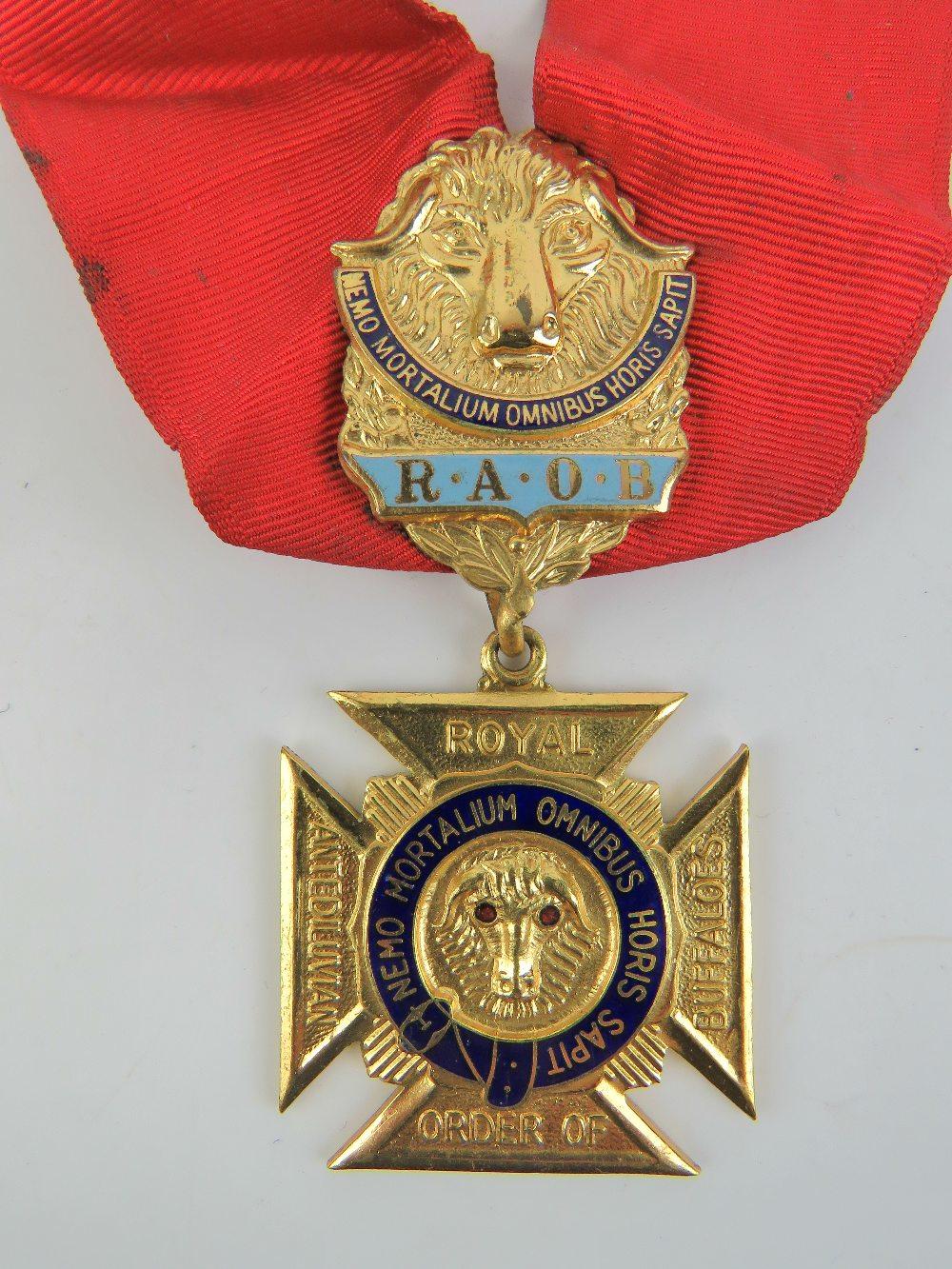 Lot 19 - The Royal Antediluvian Order of Buffaloe