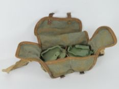 MG42 double magazines in MG42 carry case