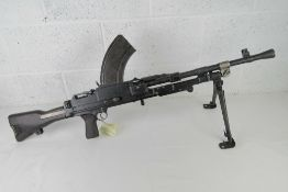 A deactivated Bren MKIII .303 Light Mach