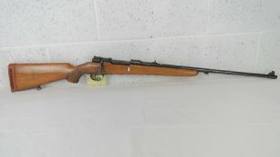 A deactivated Mauser Custom Fabrique Nat