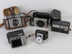 Camera equipment; a Yashica Yem35 Super