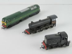 A Triang Hornby model railway locomotives being R150,