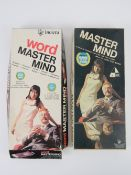 Mastermind by Vic-Toy in original box, together with Word Mastermind by Invicta. Two items.
