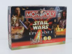 Star Wars Episode One, Collector Edition Monopoly in original box, made by Waddingtons.