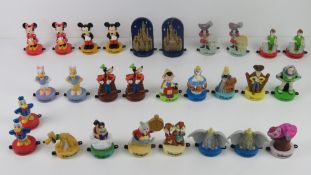 A large quantity of c1990s Disneyland Paris stamps for McDonalds inc Mickey and Minnie Mouse,