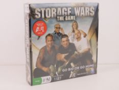 Storage Wars The Game, unopened in original packaging and plastic wrap.