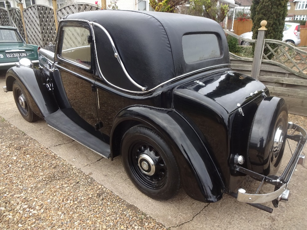 1935 Morris 12/4 1500cc Coupe - Image 4 of 9