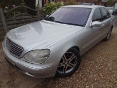 2002 Mercedes S Class S 500 5.0 V8 Automatic.