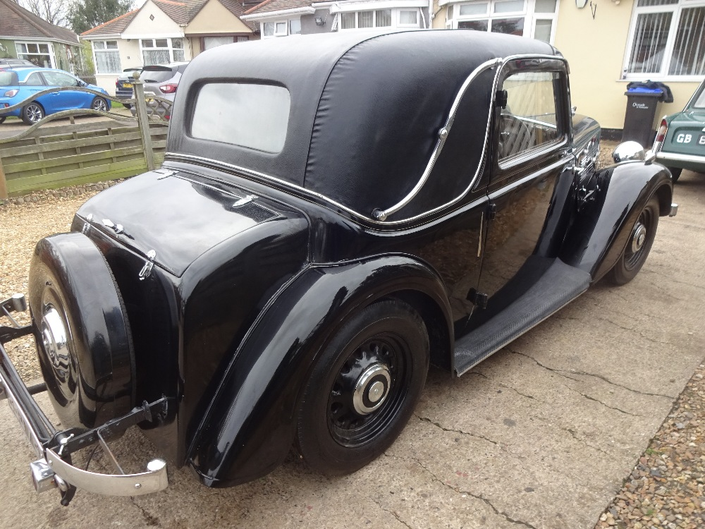 1935 Morris 12/4 1500cc Coupe - Image 3 of 9