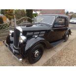 1935 Morris 12/4 1500cc Coupe