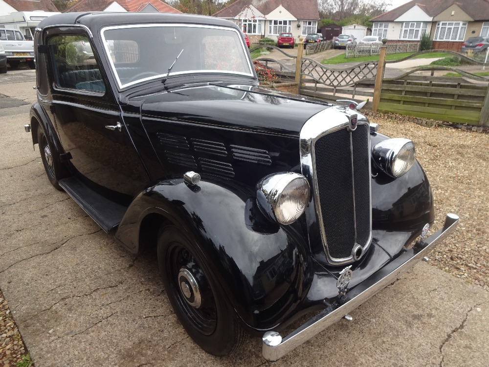 1935 Morris 12/4 1500cc Coupe - Image 2 of 9