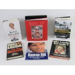 Biographies; 'Winning Is Not Enough' Jackie Stewart, 'For The Record' Niki Lauda,