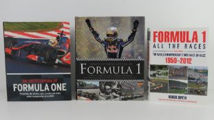 Formula 1 All The Races 1950-2012 by Roger Smith, hardback book.