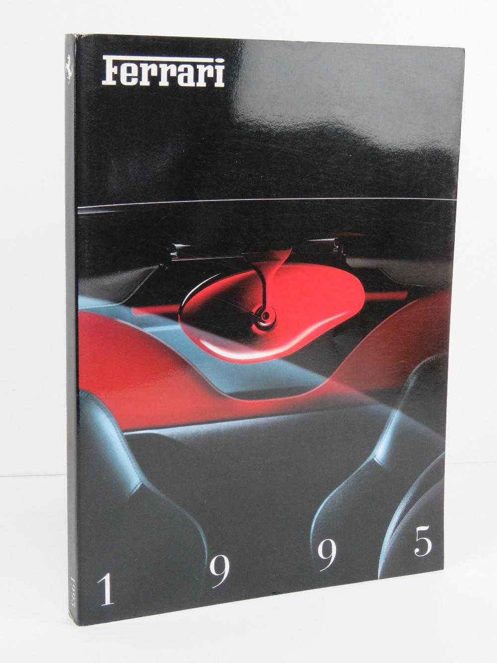 Ferrari Yearbook 1995. English edition. Softback book.