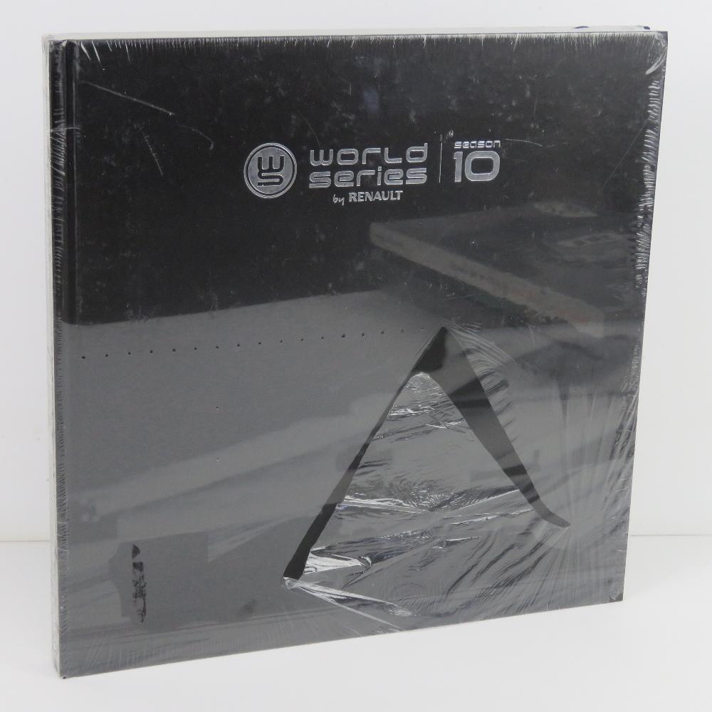 World Series By Renault Season 10. Hardback book. In plastic wrap.