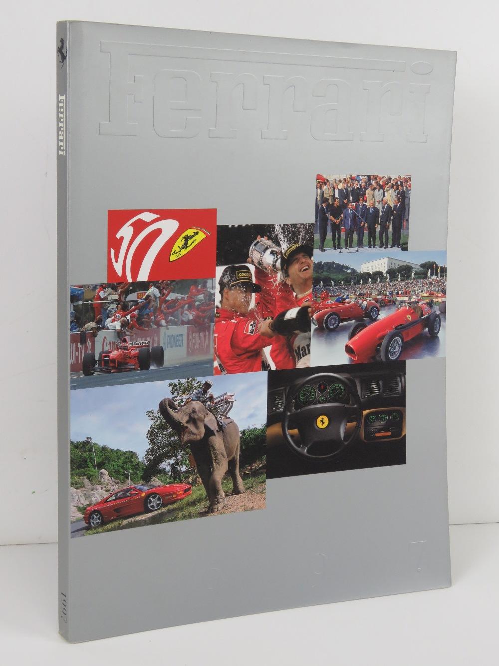 Ferrari Yearbook 1997. English edition. Softback book.