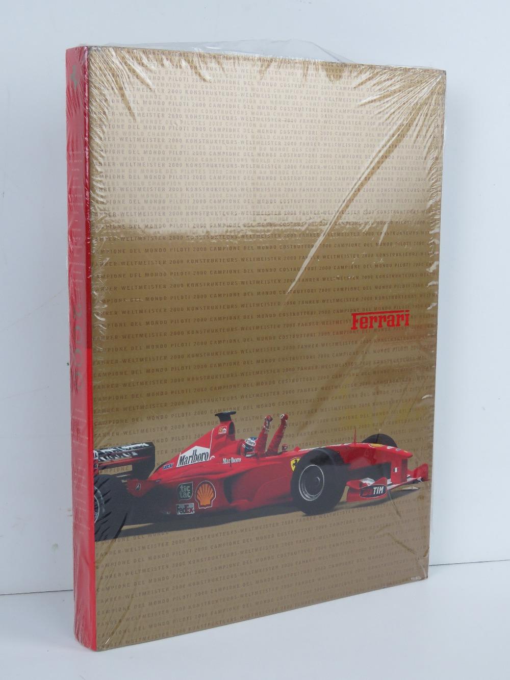 Ferrari Yearbook 2000. English / Italian edition. Softback book.
