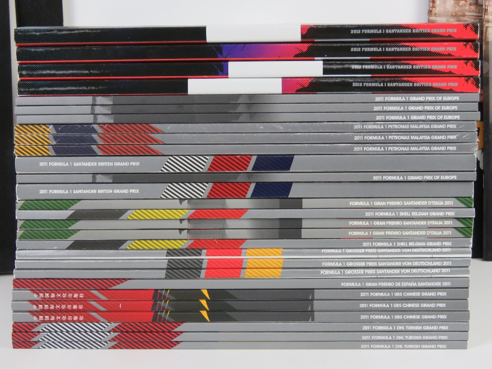 A large quantity of assorted Formula 1 race programmes for 2011 and 2012. - Image 2 of 3