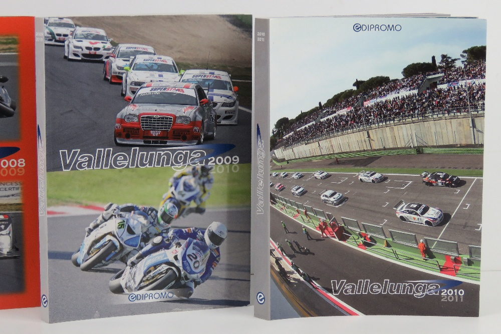 Vallelunga. 2007/8, 2008/9, 2009/10, and 2010/11 editions. Italian text softback books. - Image 3 of 3