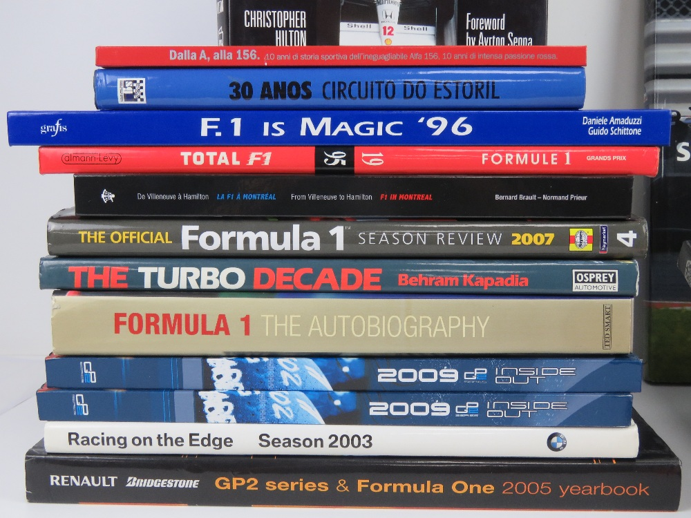 A quantity of assorted F1 themed books including Formula 1 Season Review 2007, - Image 2 of 2