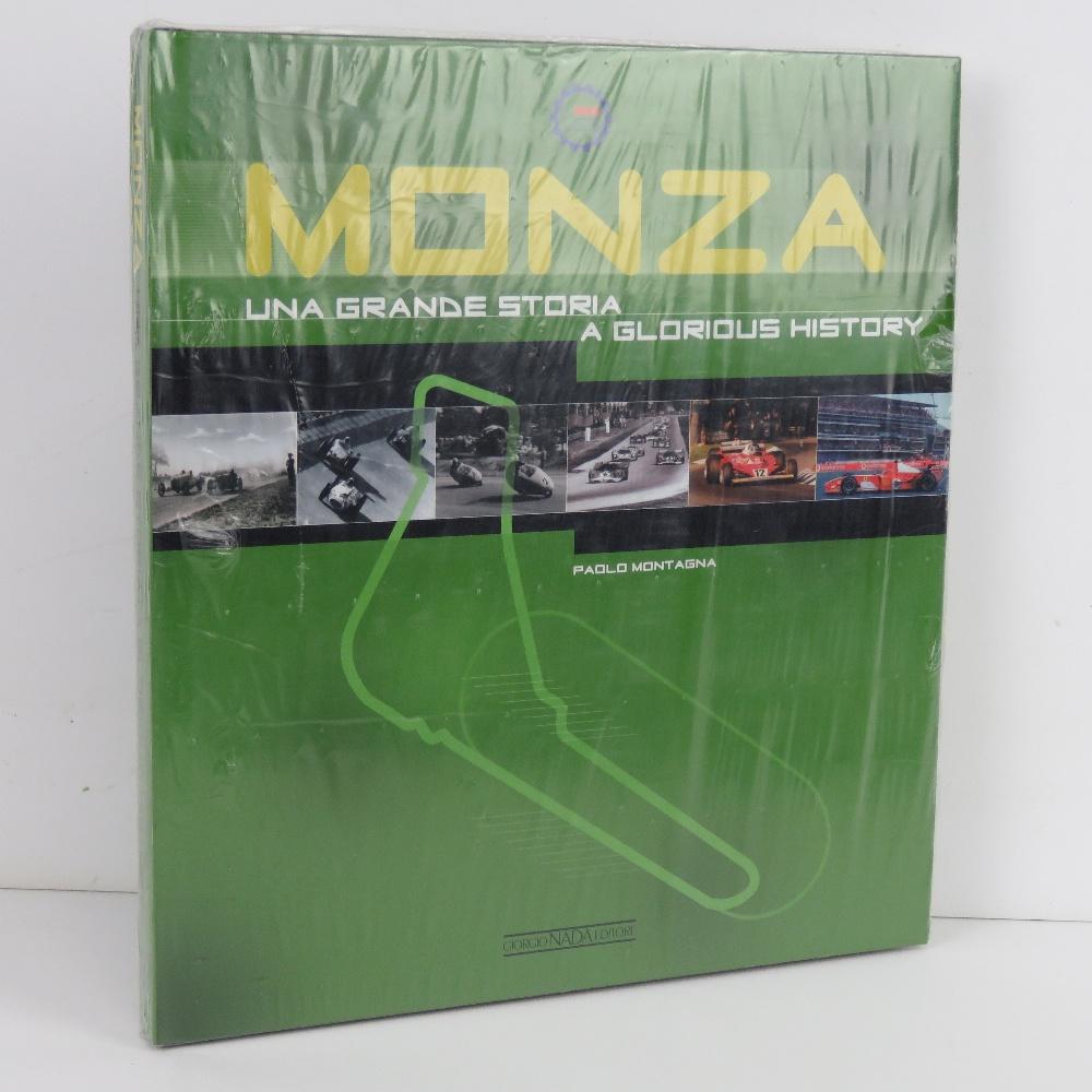 Monza Una Grande Storia / A Glorious History by Paolo Montagna. English / Italian edition.