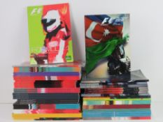 A large quantity of assorted Formula 1 race programmes for 2016 and 2017.