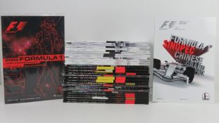 A large quantity of assorted Formula 1 race programmes for 2008 and 2008.