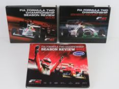 FIA Formula Two Championship Season Review, 2009, 2010 and 2011 editions. Three hardback books.