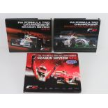 FIA Formula Two Championship Season Review, 2009, 2010 and 2011 editions. Three hardback books.