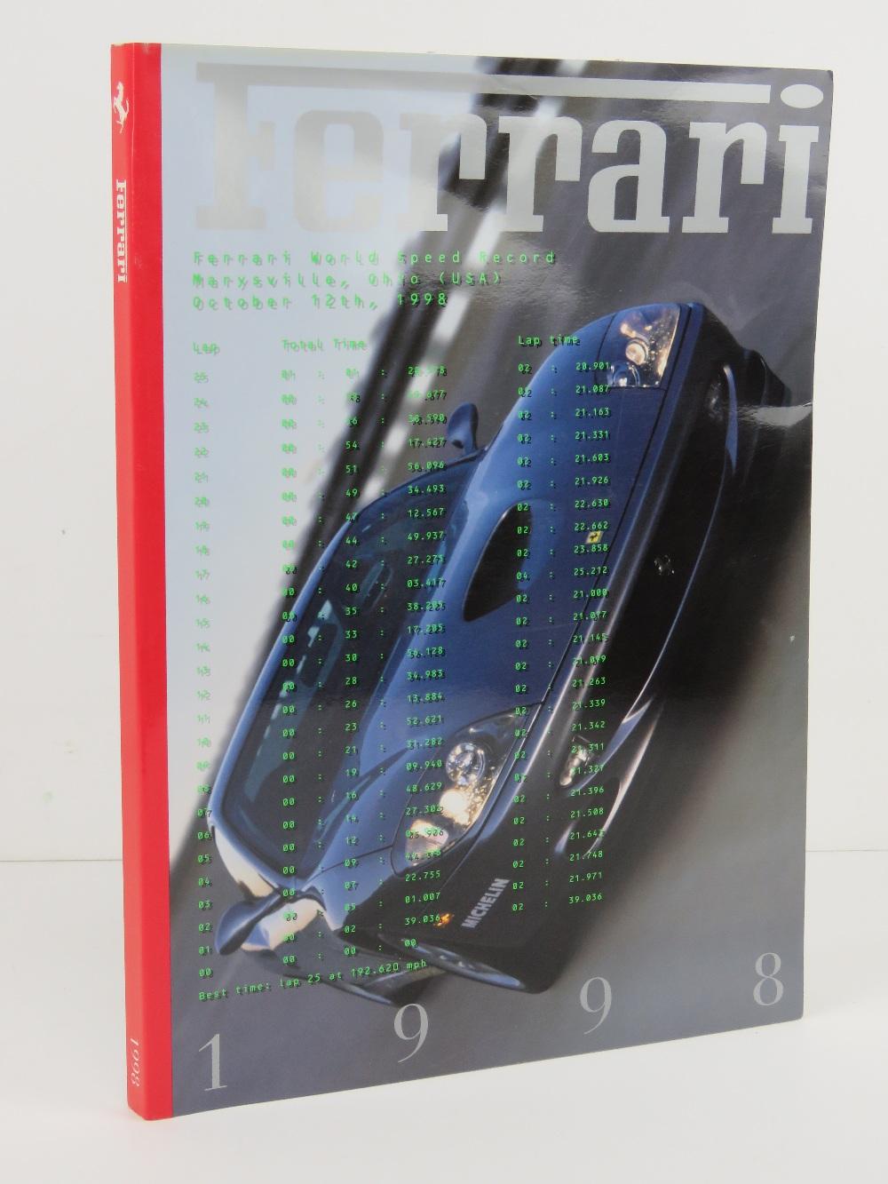 Ferrari Yearbook 1998. Italian edition. Softback book.