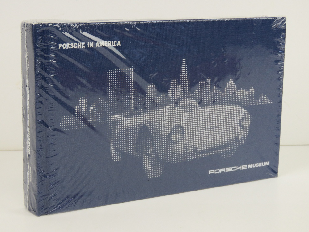 Porsche in America. Published 2012 by Porsche Museum, English version. Hardcover book.